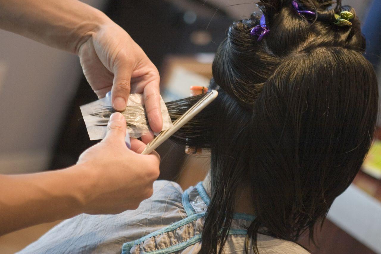 kapper natuurlijke haarverf